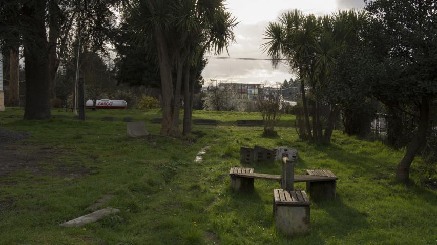 Imagen del monumento Parque que rodea la Casa Hollstein