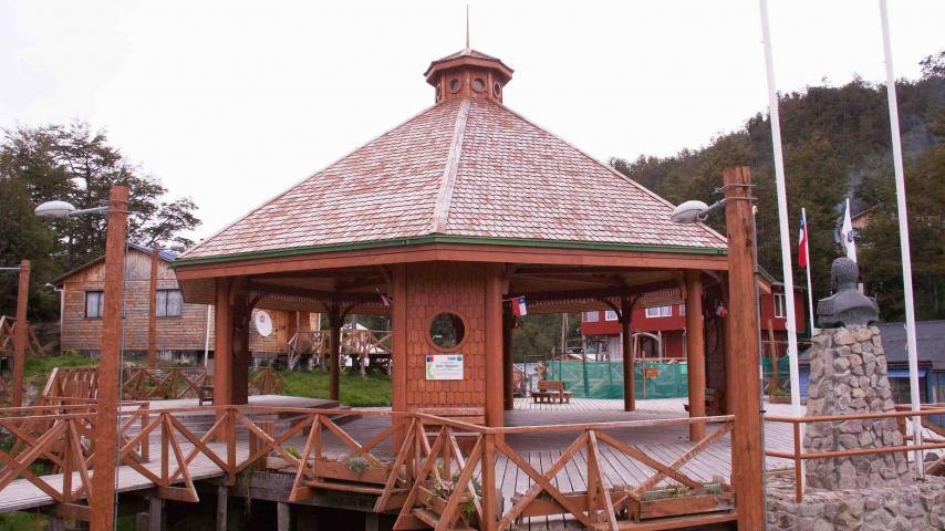 Imagen del monumento Pueblo de Caleta Tortel