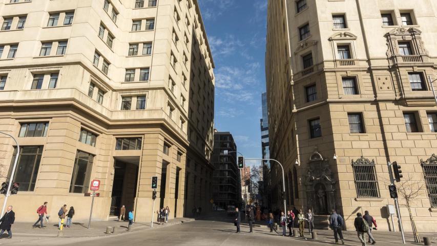 Imagen del monumento Barrio Cívico - Eje Bulnes - Parque Almagro