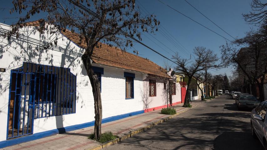 Imagen del monumento Sector comprendido entre la calle Emilio Delporte, Avenida Manuel Montt, Avenida Santa Isabel y calle Miguel Claro.