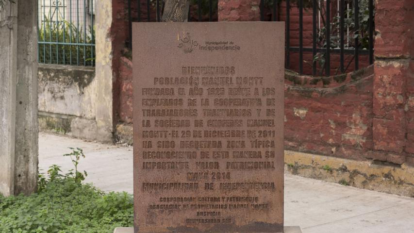 Imagen del monumento Población Manuel Montt