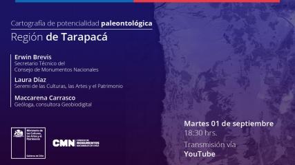 Imagen de Cartografía de potencialidad paleontológica de la Región de Tarapacáy Parinacota