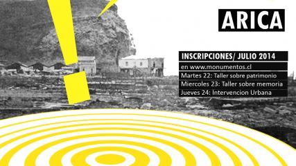 Imagen de Soy vulnerable, movilízate por tu patrimonio / Arica
