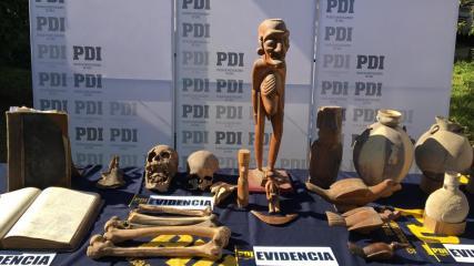 Imagen de 540  PIEZAS ARQUEOLÓGICAS FUERON ENTREGADAS AL CMN PARA SER PERICIADAS