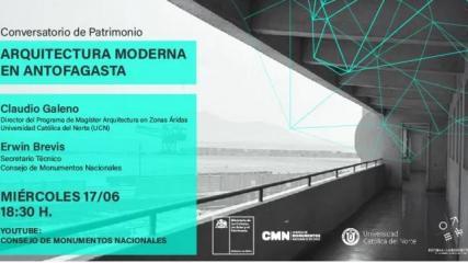 Imagen de Conversatorio Arquitectura Moderna en Antofagasta