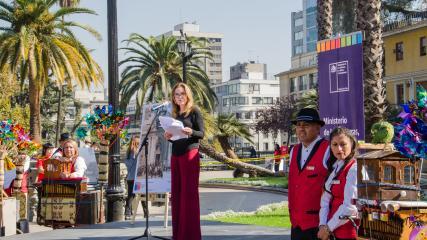 Imagen de Ministra de las Culturas anuncia que celebración del Día del Patrimonio Cultural se extiende a dos días