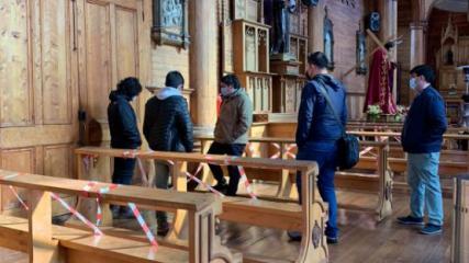Imagen de CMN da inicio a trabajos de normalización eléctrica en Iglesia San Francisco de Castro