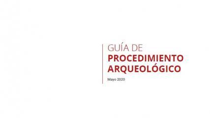 Imagen de Guía de Procedimiento Arqueológico