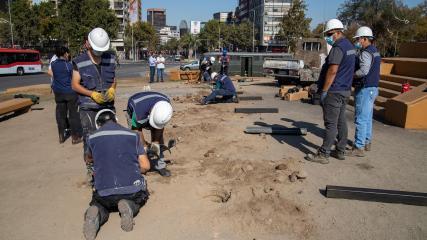 Imagen de Instalación de faenas y cierre perimetral temporal para ejecutar obras de reforzamiento acordadas por el Consejo de Monumentos