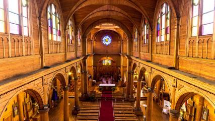 Imagen de CMN inicia celebraciones por los 40 años de la  Iglesia de Castro como Monumento Histórico