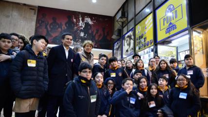 Imagen de Ministra de las Culturas anuncia estudio para futura restauración de murales de Nemesio Antúnez