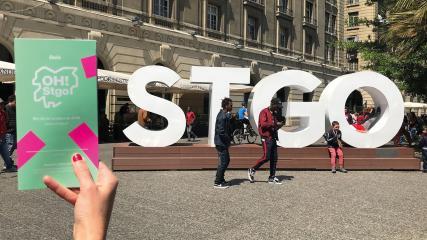 Imagen de CMN y el evento OH!STGO invitan a recorrer 26 Monumentos Nacionales y los murales del artista Nemesio Antúnez