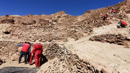 Imagen de CMN inicia obras de emergencia para proteger el Pucará de Quitor