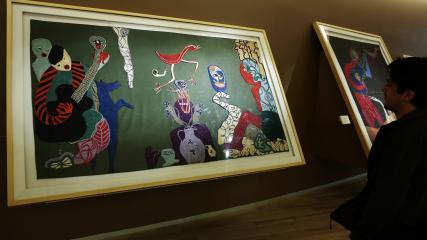 Imagen de Se aprueba la solicitud de declaratoria las obras artísticas de Violeta Parra como Monumento Nacional