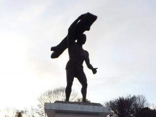 Imagen del monumento Caupolicán